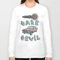 daredevil Long Sleeve T-shirts featuring DareDevil by NickTheGreek