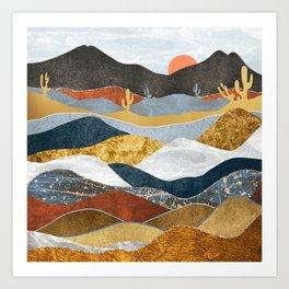 Desert Cold Kunstdrucke