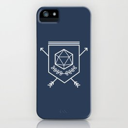 Roleplayer's Crest iPhone Case