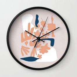 Nice abstract artwork  Wall Clock