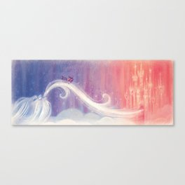 """Celeste in the sky // Illustration from """"Once Upon A Cloud"""" Canvas Print"""