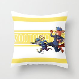 On the Chase! Throw Pillow