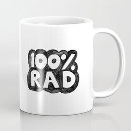 100 % RAD - Bubble Coffee Mug