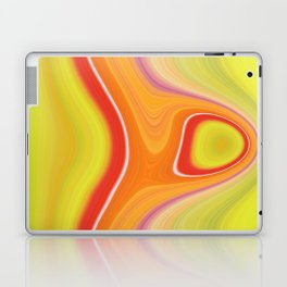 Kinky Sablo Lio ~ Orange & Lime Green Laptop & iPad Skin