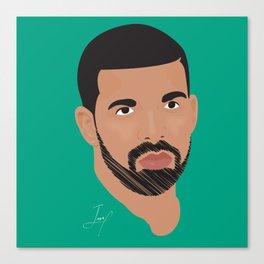 Hip Hop 2 Portait Canvas Print