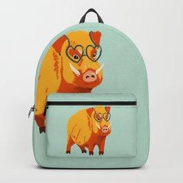 Benevolent Funny Boar Pig Backpack