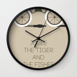 Josee, The Tiger And The Fish Wall Clock