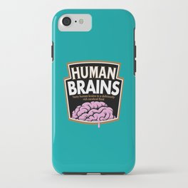 Human Brains iPhone Case
