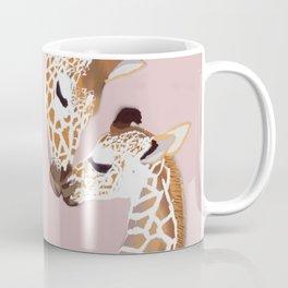 Giraffe mother and baby Coffee Mug