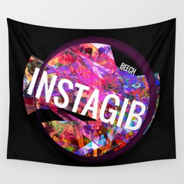 INSTAGIB Album Cover Wall Tapestry