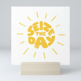 Seize the day Mini Art Print