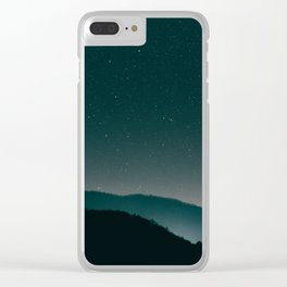 reach for the stars Clear iPhone Case