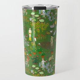 Naked Gardening Day Travel Mug
