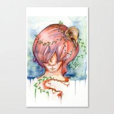 melting slowly Canvas Print