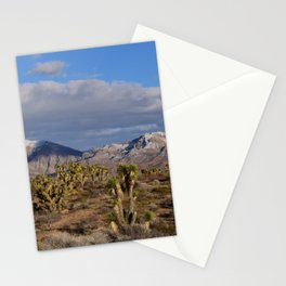 Winter in the Desert Stationery Cards