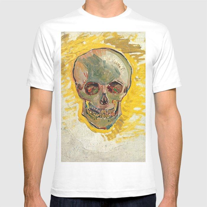 Vincent Van Gogh Skull T-shirt