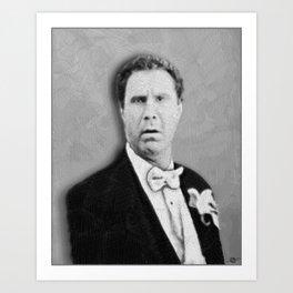 Will Ferrell Fan Gifts Old School Art Print
