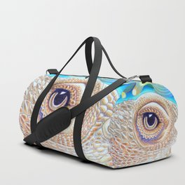 Dragon Star, Bearded Dragon Lizard Art Duffle Bag