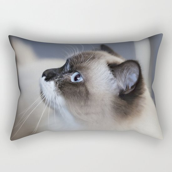 Ragdoll Cat Rectangular Pillow