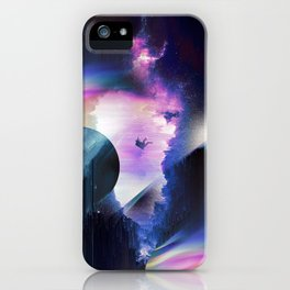 Galaxy Tripping iPhone Case
