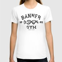 gym T-shirts featuring Banner Gym by Mitch Ethridge