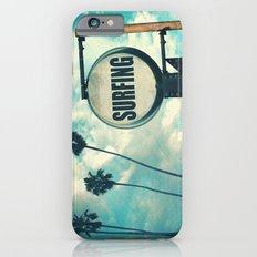 Surfing Sign iPhone 6s Slim Case
