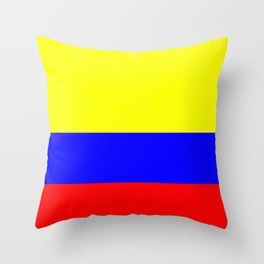 Flag of Colombia Throw Pillow