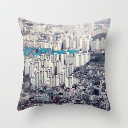 Metropolis Throw Pillow