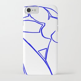 Blue Nude II by Matisse iPhone Case
