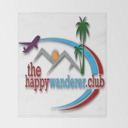 The Happy Wanderer Club Throw Blanket