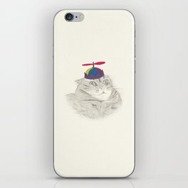 Nelly in the Helicopter Hat iPhone Skin