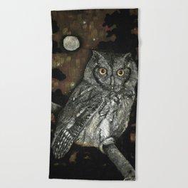 Night Vision Beach Towel