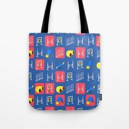 Agility Grid Tote Bag
