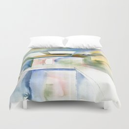 Abstract interior Duvet Cover