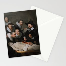 Anatomy Lesson of Dr. Nicolaes Tulp-Rembrandt Stationery Cards