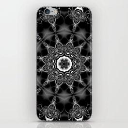 Mystic Night w/ Black and White Mandala iPhone Skin