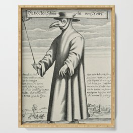 Plague Doctor Serving Tray