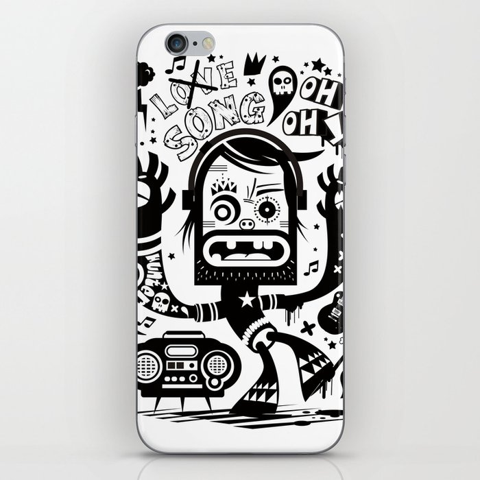 This is not a love song iPhone Skin