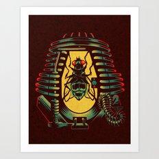 THE FLY: TELEPOD Art Print