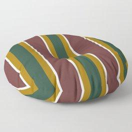 Repp Tie Pattern No. 5 Floor Pillow