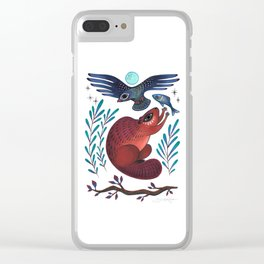 Peace Offering Clear iPhone Case