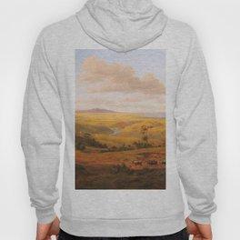 View of Geelong by Eu von Guerard Date 1856  Romanticism  Landscape Hoody