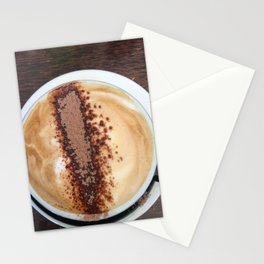 Cappuccino Coffee Stationery Cards