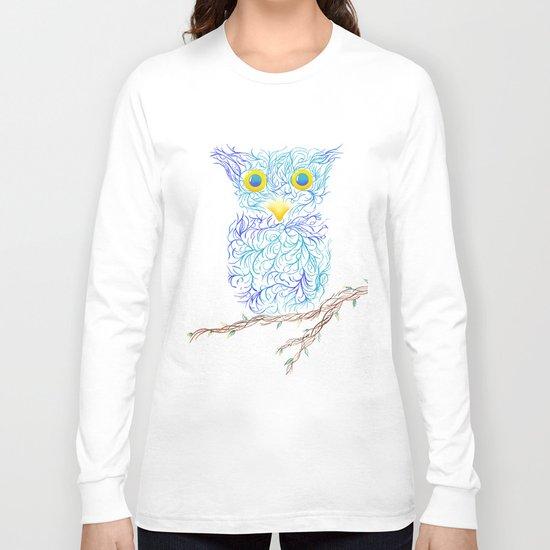Fantasy Owl Long Sleeve T-shirt