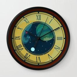 Cosmic Pocket Watch Wall Clock