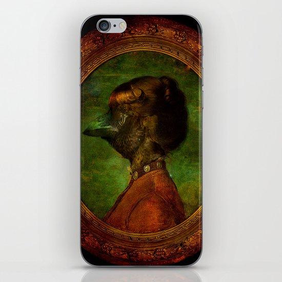 Miss Crow iPhone & iPod Skin