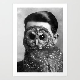 Unknown (Man) Portrait Art Print