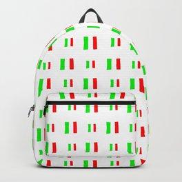Flag of Italy - Handmade Backpack
