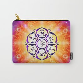 """Om Mani Padme Hum"" - Embodiment of Compassion Carry-All Pouch"