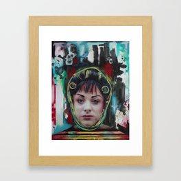 Cha-Cha Heels Framed Art Print